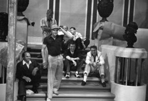 Marlon Brando, James Mason and Edmond O