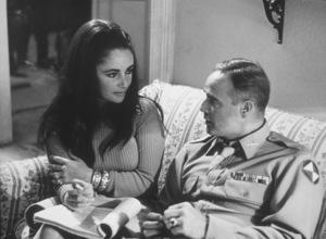 """Reflections in a Golden Eye""Elizabeth Taylor and Marlon Brando1967 Warner Bros.Photo By: Robert PennMPTV - Image 5693_0100"