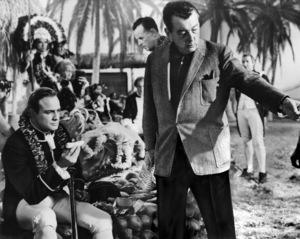 """Mutiny on the Bounty""Marlon Brando, director Lewis Milestone1962 MGM - Image 5698_0014"