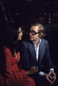 Michael Caine and his wife Shakira on their wedding day 1973 © 1978 Gene Trindl - Image 5705_0134