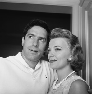 John Cassavetes and wife Gena Rowlands at homecirca 1960s© 1978 Gunther - Image 5706_0013