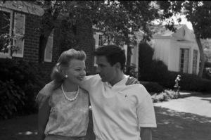 John Cassavetes and wife Gena Rowlands at homecirca 1960s© 1978 Gunther - Image 5706_0020