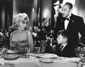 """Gentlemen Prefer Blondes""Marilyn Monroe, George Winslow © 1953 / 20th Century Fox**R.C. - Image 5709_0013"