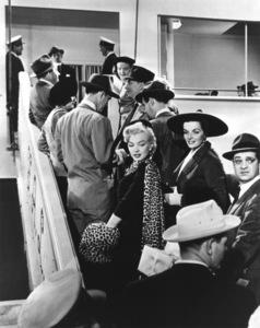 """""""Gentlemen Prefer Blondes""""Marilyn Monroe, Jane Russell, Tommy Noonan © 1953 / 20th Century Fox**R.C. - Image 5709_0025"""