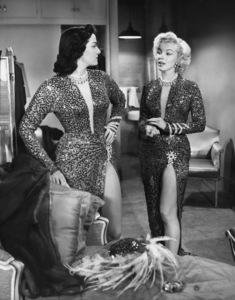 """""""Gentlemen Prefer Blondes""""Jane Russell, Marilyn Monroe 1953 20th Century Fox** I.V. - Image 5709_0040"""