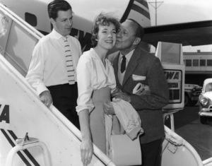 Julie Andrews and Jack Bennycirca 1960s** I.V. - Image 5722_0203