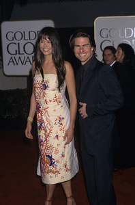 Tom Cruise and his sister-in-law Antoniacirca 1980s© 1980 Gary Lewis - Image 5724_0094