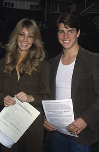 Tom Cruise and Heather Locklear1984© 1984 Gary Lewis - Image 5724_0101