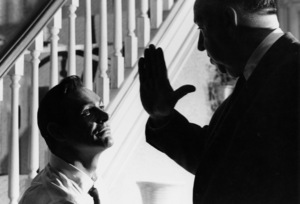 """""""Marnie""""Sean Connery and director Alfred Hitchcock1964 © 1978 Bob Willoughby - Image 5733_0040"""