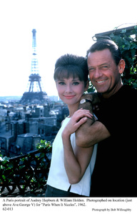 """Paris When It Sizzles""Audrey Hepburn, William Holden1962 / Paramount © 1978 Bob Willoughby - Image 5734_0032"