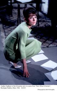 """Paris When It Sizzles""Audrey Hepburn1962 / Paramount © 1978 Bob Willoughby - Image 5734_0034"