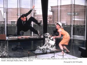 """Paris When It Sizzles""William Holden, Audrey Hepburn1962 / Paramount © 1978 Bob Willoughby - Image 5734_0036"