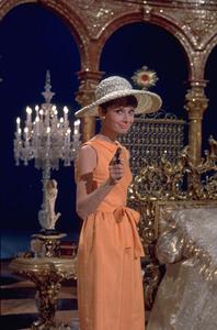 """""""Paris When it Sizzles""""Audrey Hepburn / 1963 © 1978 Bob Willoughby - Image 5734_0056"""