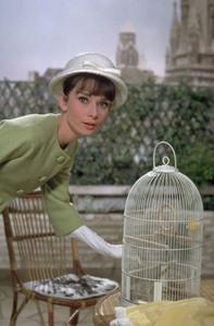 """""""Paris When it Sizzles""""Audrey Hepburn / 1963 © 1978 Bob Willoughby - Image 5734_0058"""