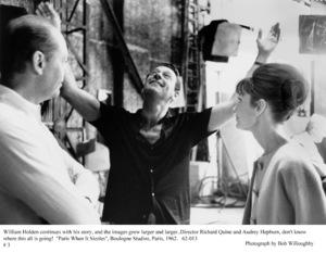 """Paris When It Sizzles""Dir. Richard Quine, William Holden, Audrey Hepburn1962 / Paramount © 1978 Bob Willoughby - Image 5734_0066"