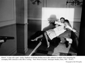 """Paris When It Sizzles""Audrey Hepburn, William Holden1962 / Paramount © 1978 Bob Willoughby - Image 5734_0068"