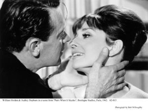 """Paris When It Sizzles""William Holden, Audrey Hepburn1962 / Paramount © 1978 Bob Willoughby - Image 5734_0071"
