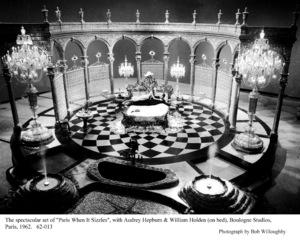 """Paris When It Sizzles""Audrey Hepburn, William Holden1962 / Paramount © 1978 Bob Willoughby - Image 5734_0101"