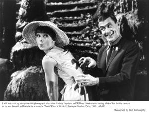 """Paris When It Sizzles""Audrey Hepburn, William Holden1962 / Paramount © 1978 Bob Willoughby - Image 5734_0102"