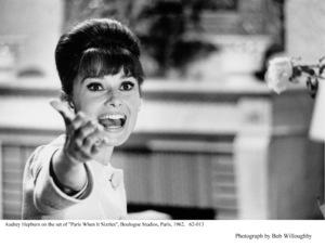"""Paris When It Sizzles""Audrey Hepburn1962 / Paramount © 1978 Bob Willoughby - Image 5734_0105"