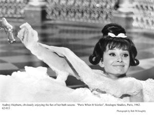 """Paris When It Sizzles""Audrey Hepburn1962 / Paramount © 1978 Bob Willoughby - Image 5734_0110"