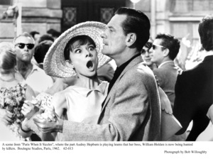 """Paris When It Sizzles""Audrey Hepburn, William Holden1962 / Paramount © 1978 Bob Willoughby - Image 5734_0121"