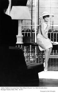 """Paris When It Sizzles""Audrey Hepburn1962 / Paramount © 1978 Bob Willoughby - Image 5734_0124"