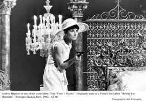"""Paris When It Sizzles""Audrey Hepburn1962 / Paramount © 1978 Bob Willoughby - Image 5734_0128"