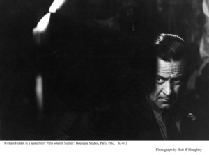 """""""Paris When It Sizzles""""William Holden1962 / Paramount © 1978 Bob Willoughby - Image 5734_0138"""