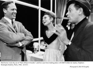 """Paris When It Sizzles""Mel Ferrer, Audrey Hepburn, William Holden.1962 / Paramount © 1978 Bob Willoughby - Image 5734_0144"