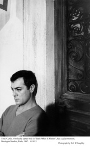"""""""Paris When It Sizzles""""Tony Curtis1962 / Paramount © 1978 Bob Willoughby - Image 5734_0150"""