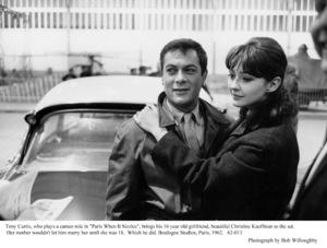 """Paris When It Sizzles""Tony Curtis, Christine Kaufmann1962© 1978 Bob Willoughby - Image 5734_0151"