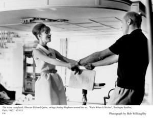 """""""Paris When It Sizzles""""Audrey Hepburn, Dir. Richard Quine1962 / Paramount © 1978 Bob Willoughby - Image 5734_0153"""
