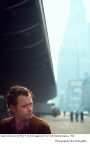 """""""Luv""""Jack Lemmon on the New York City location.1966 Columbia © 1978 Bob Willoughby - Image 5736_0017"""