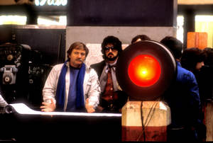 """""""Nighthawks""""Director Bruce Malmuth, Sylvester Stallone1981 Universal Pictures © 1981 Bob Willoughby - Image 5739_0027"""