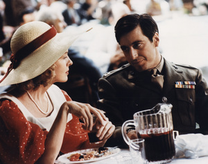"""The Godfather""Diane Keaton, Al Pacino1972 Paramount Pictures - Image 5746_0023"