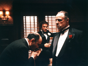 """The Godfather""Salvatore Corsitto, James Caan, Marlon Brando1972 Paramount Pictures - Image 5746_0028"