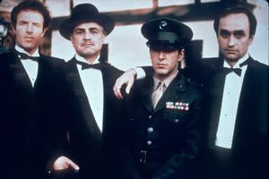 """Godfather""James Caan, Marlon Brando,  Al Pacino, John Cazale1972 Paramount - Image 5746_0030"