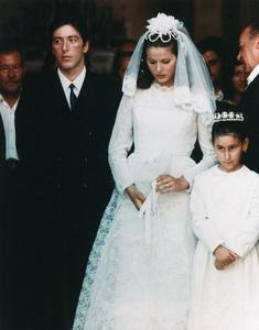 """The Godfather""Al Pacino, Simonetta Stefanelli1972 Paramount Pictures - Image 5746_0045"