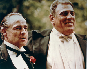 """The Godfather""Marlon Brando, Lenny Montana1972 Paramount Pictures - Image 5746_0046"