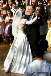 """""""The Godfather""""Marlon Brando, Talia Shire1971 Paramount**I.V. - Image 5746_0054"""