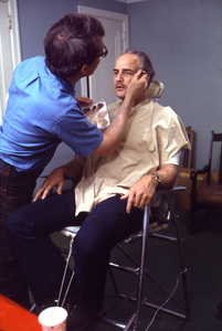 """The Godfather""Marlon Brando1971 Paramount**I.V. - Image 5746_0056"