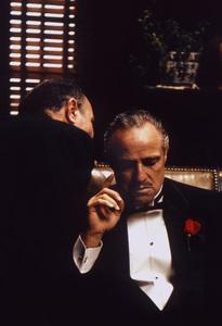 """The Godfather""Marlon Brando1971 Paramount**I.V. - Image 5746_0063"