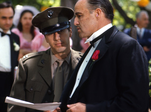 """The Godfather""Marlon Brando, Al Pacino1971 Paramount**I.V. - Image 5746_0067"