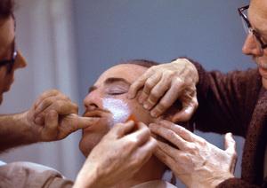 """""""The Godfather""""Dick Smith, Marlon Brando1971 Paramount** I.V. - Image 5746_0068"""