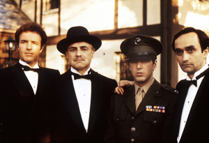 """""""The Godfather""""John Cazale, Al Pacino, Marlon Brando, James Caan1972 Paramount**I.V. - Image 5746_0073"""