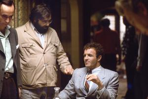 """The Godfather""John Cazale, director Francis Ford Coppola, James Caan1972 Paramount** I.V. - Image 5746_0076"
