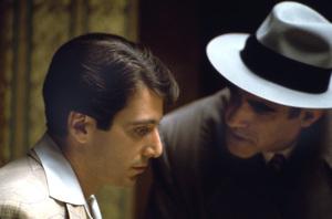 """The Godfather"" Al Pacino, Abe Vigoda 1972 Paramount ** I.V. - Image 5746_0077"