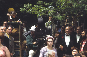 """The Godfather""Marlon Brando, Robert Duvall, Francis Ford Coppola and cast and crew1972 Paramount**I.V. - Image 5746_0080"