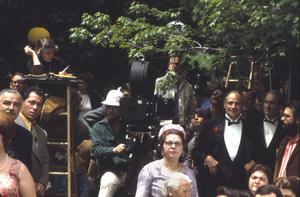 """The Godfather""Marlon Brando, Robert Duvall, Francis Ford Coppola and cast and crew1972 Paramount**I.V. - Image 5746_0080"